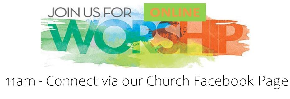 Online Worship Banner