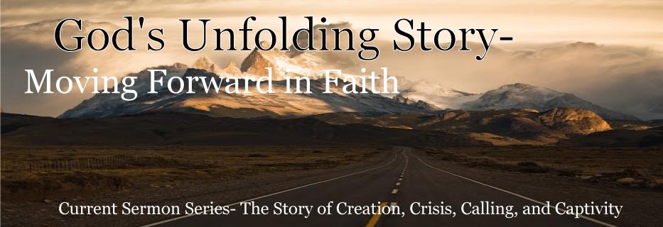 Gods Unfolding Story Banner