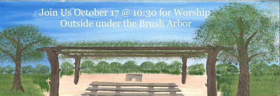 Brush Arbor 2021 Banner