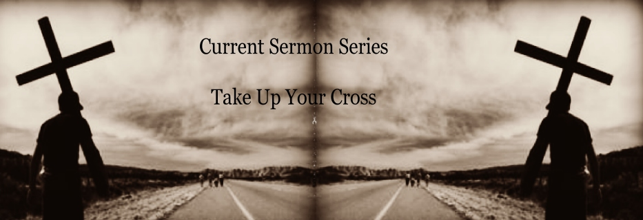 Take up Your Cross Banner